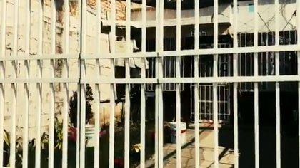La casa en el fraccionamiento Villas de San Cayetano, donde fueron levantados tres miembros de una familia  (Foto: Especial)