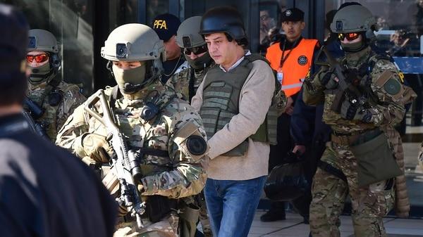 Víctor Manzanares, el contador de los Kirchner, está detenido en el penal de Marcos Paz (foto de archivo – Télam)