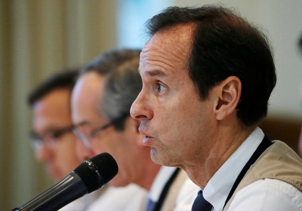 Jorge Tuto Quiroga, jefe de la Misión Observadora Electoral (Reuters)