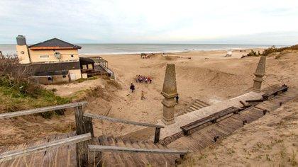 La Rambla de Ostende está ubicada en Nuestras Malvinas y Rambla Sud (@prensapinamar)