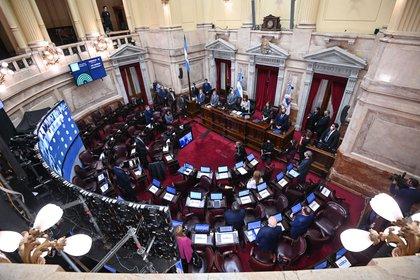 Senadores debatirán el jueves el proyecto de reforma de Ganancias y el régimen de Monotributo (Charly Diaz Azcue/Comunicación Senado)