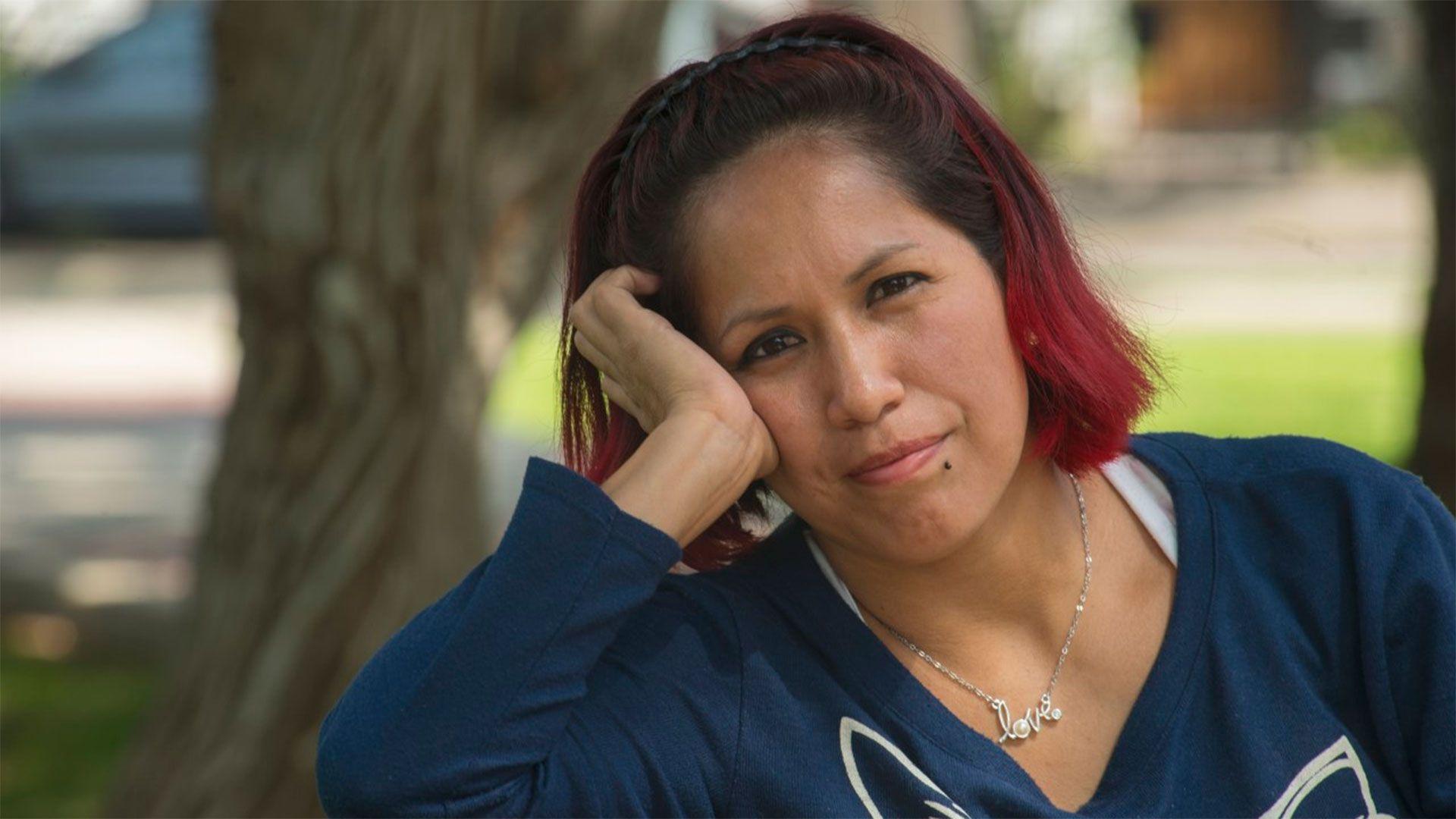 Vanessa tiene tres hijos, los dos más grandes nacieron en Argentina (Amnistía Internacional Perú)