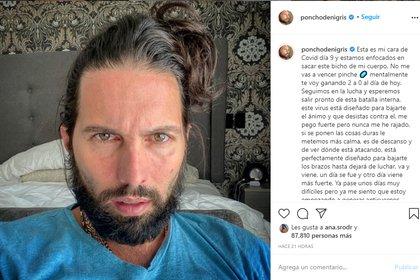 Poncho de Nigris a través de Instagram (@ponchodenigris)