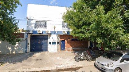 La fachada de la empresa de transporte de caudales que fue asaltada en Rosario