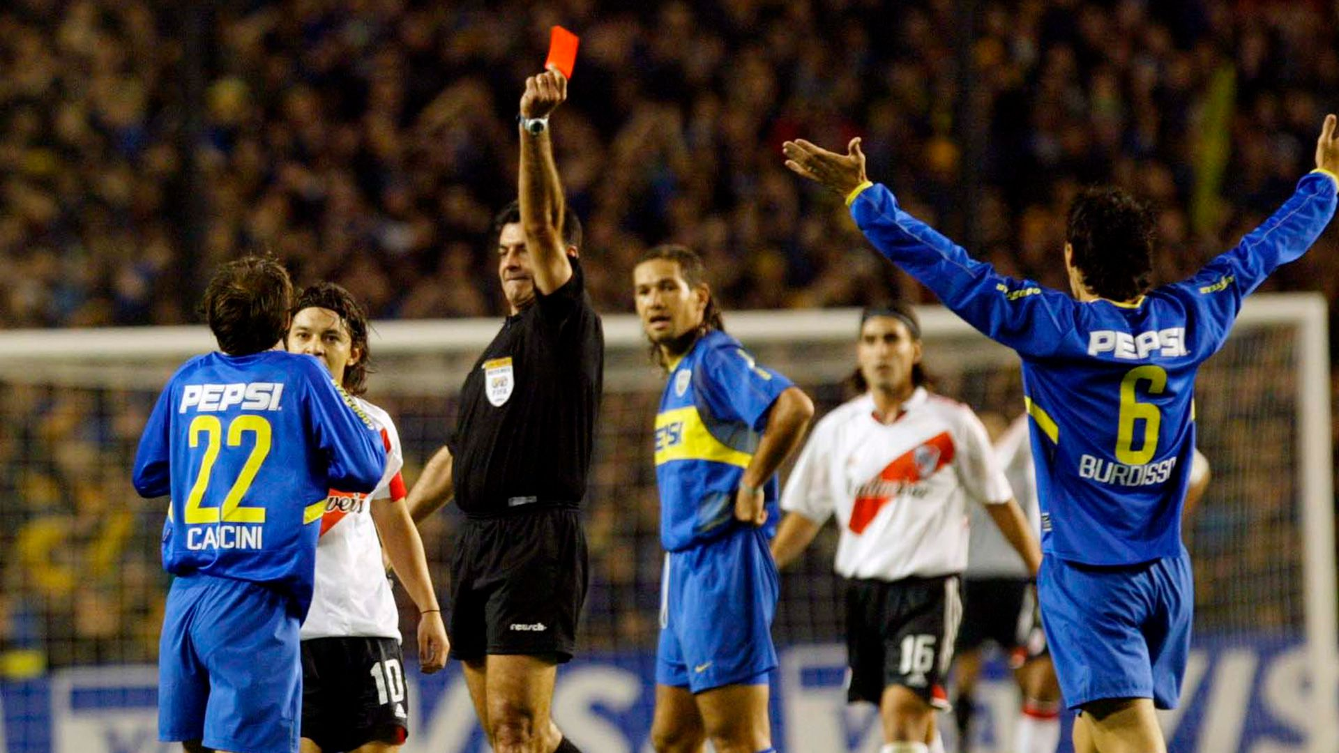 Boca vs River Copa Libertadores 2004
