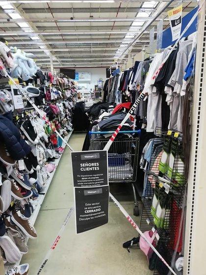 Los hipermercados tendrán que limitar la oferta de productos de indumentaria y calzado