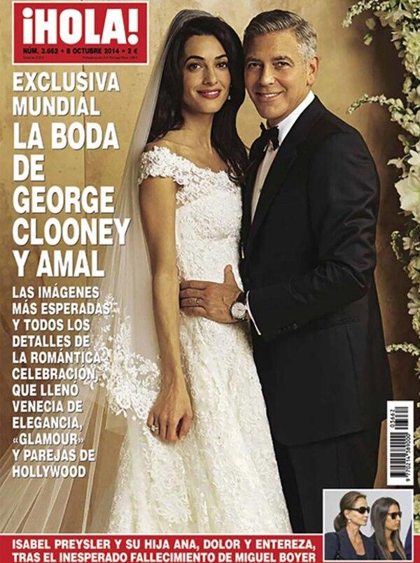 La boda en Hola España
