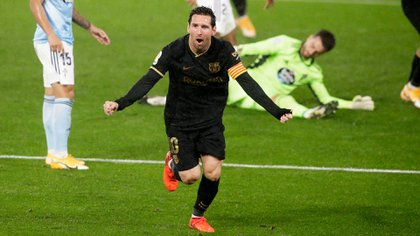 Lionel Messi se destacó en las goleadas ante el Villarreal y el Celta, pero no pudo exponer su brillo contra el Sevilla