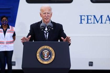 Biden viajó a Texas