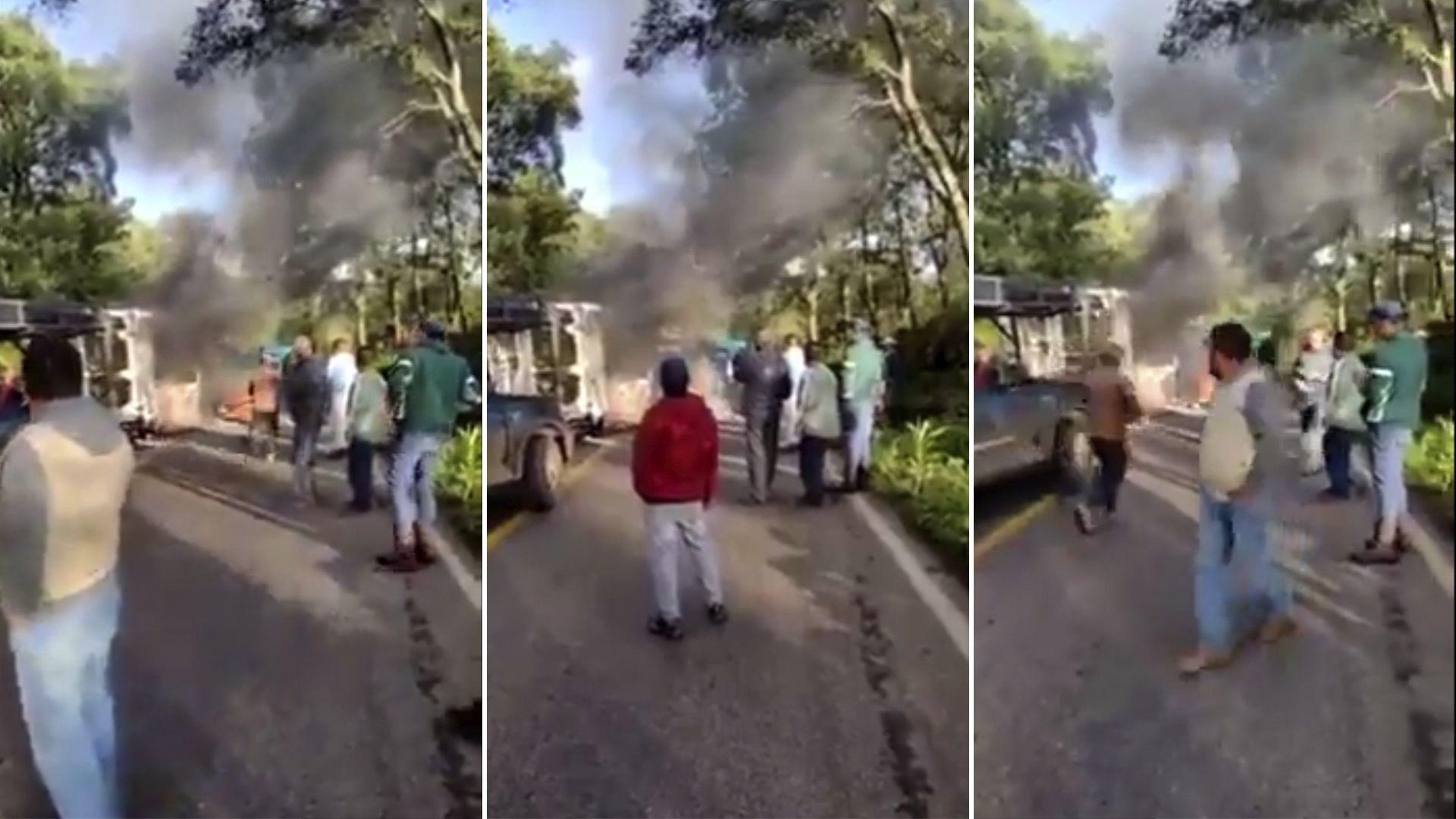 CJNG ataca Michoacán