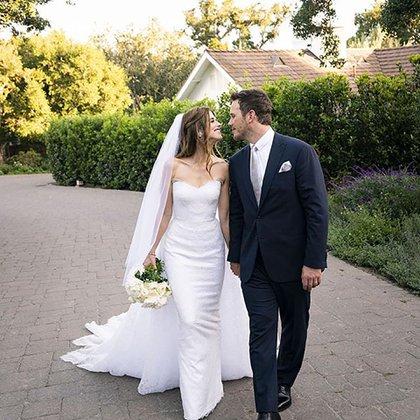 Katherine Schwarzenegger y Chris Pratt se casaron el año pasado