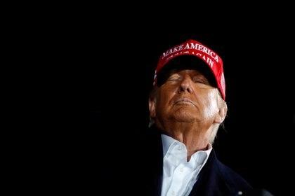Donald Trump, en evento de campaña en Des Moines (Reuters)