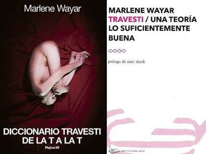 Libros de Marlene Wayar