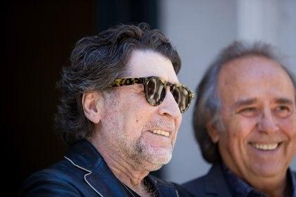 Joaquín Sabina y Joan Manuel Serrat, en Buenos Aires (Fotos y videos: Lihue Althabe)