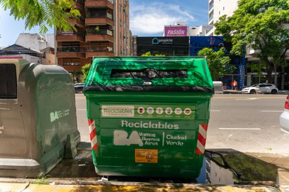 Nuevos tachos para reciclado