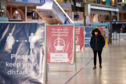Estación de Waterloo, Londres, Reino Unido (REUTERS/Hannah McKay/Archivo)