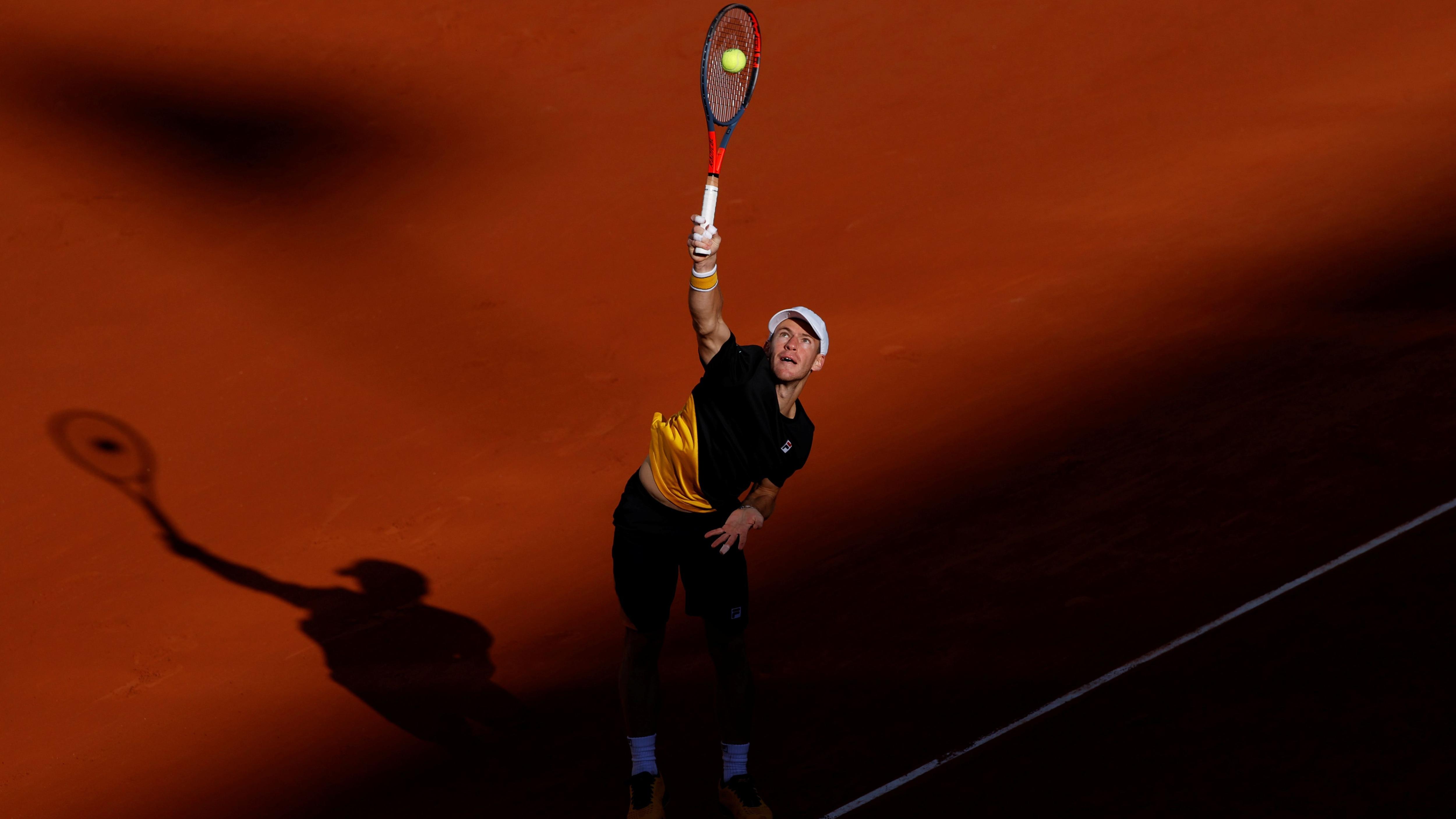 El porteño Diego Schwartzman llegó hasta las semifinales de Roland Garros, donde cayó con Rafael Nadal. Foto: REUTERS/Christian Hartmann