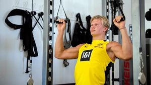 """El increíble cambio físico de Erling Haaland: """"¡Ganó 12 kilos de masa muscular en quince meses! Un animal diferente"""""""