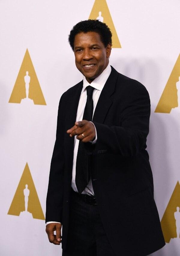 Denzel Washington obtuvo su octava nominación a los Óscar (AFP/Archivos – Mark RALSTON)