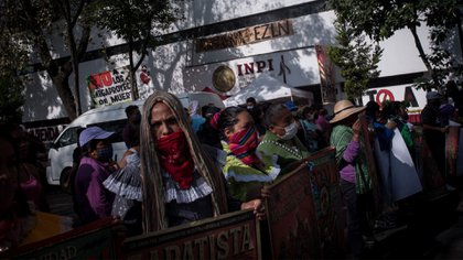 El INPI ha mantenido diálogo con el Movimiento Indígena de la Ciudad de México (Foto: Cuartoscuro)