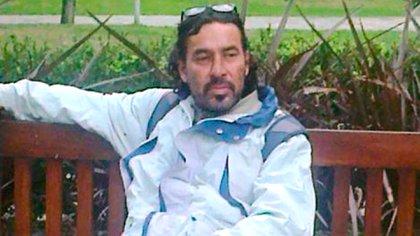 El músico vivía en situación de calle en Pinamar (Crédito: Pinamar Diario)