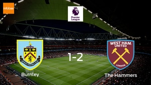 Burnley suffer defeat away to The Hammers