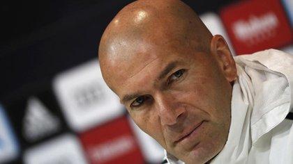 Zidanedejó un claro mensaje en conferencia de prensa(EFE)