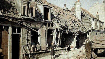 Francia, Bélgica y Luxemburgo sufrieron la mayor destrucción durante la guerra