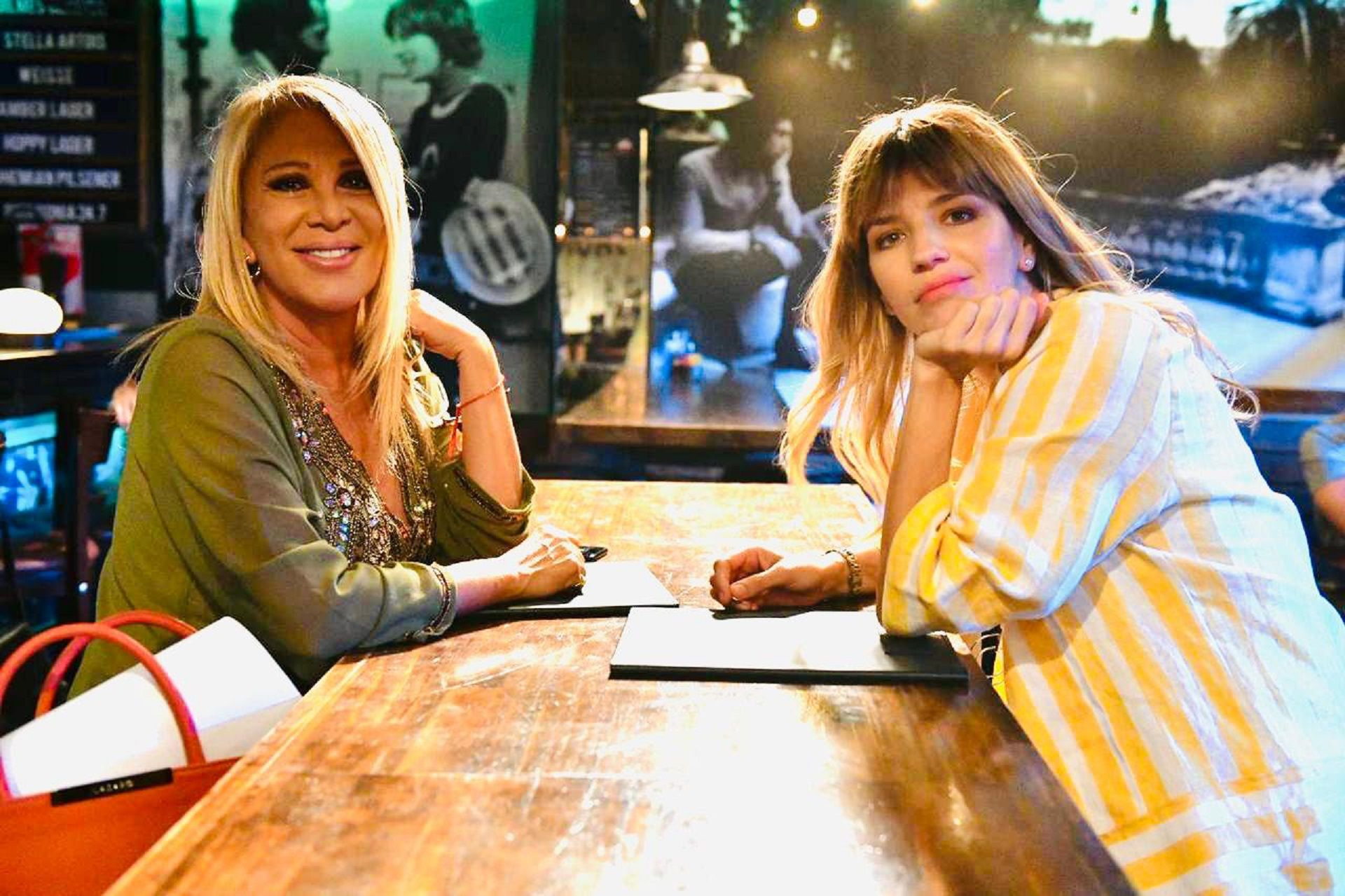 "Reina Reech se sumó a las grabaciones de ""Separadas"""