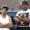 This undated handout photo provided by Christopher Harris shows Harris, left, and George Floyd in Minneapolis. The mayor of Minneapolis called Wednesday, May 27, 2020, for criminal charges to be filed against officer Derek Chauvin, who is seen on video kneeling against the neck of handcuffed Floyd, who complained that he could not breathe and died in police custody. (Christopher Harris via AP)