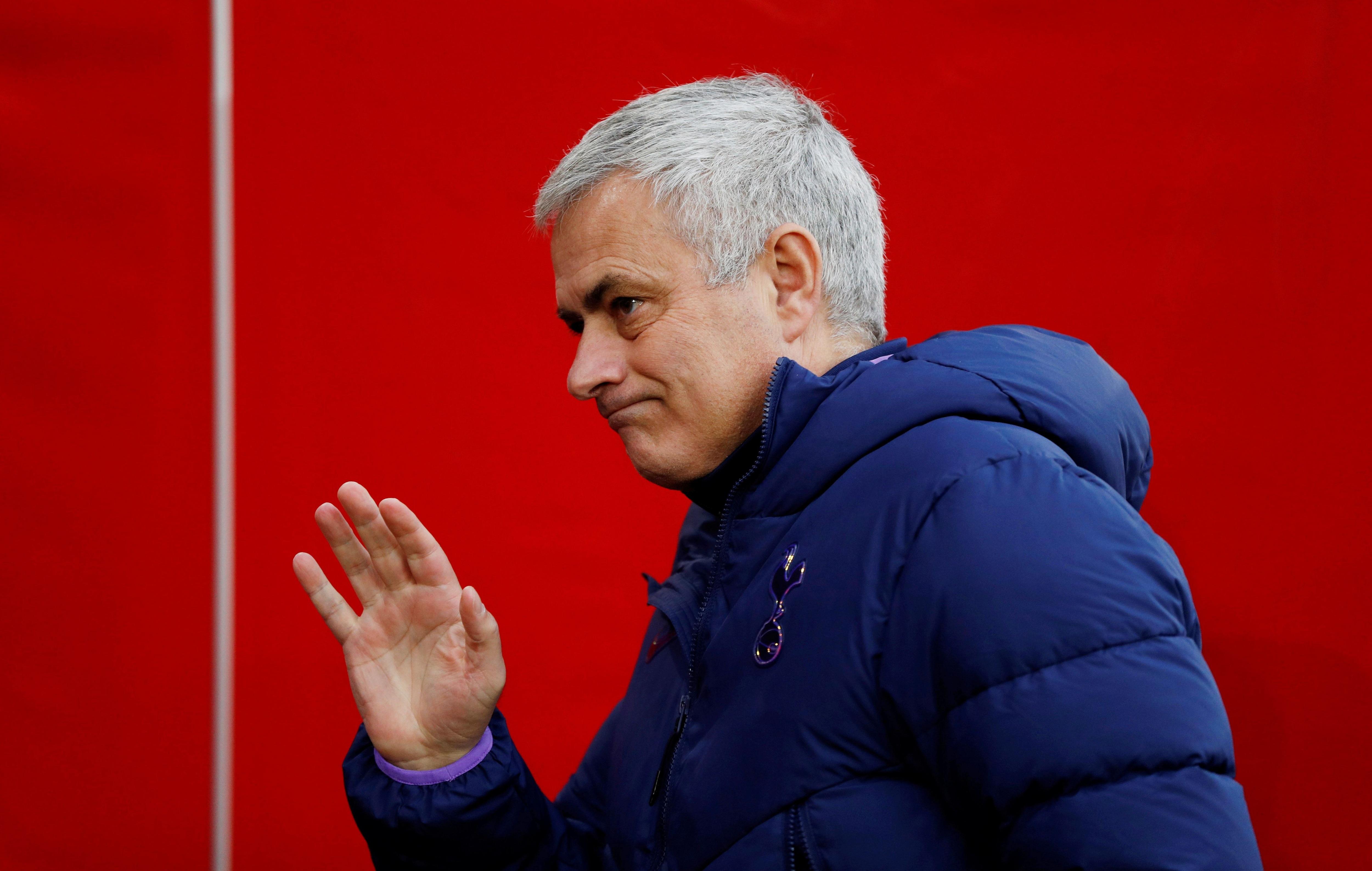 José Mourinho fue despedido como entrenador del Tottenham (Reuters/John Sibley/File Photo)