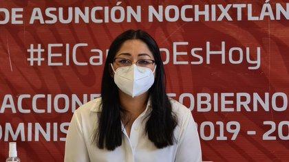 Morena no sustituirá candidata a Noxichtlán que fue vinculada a proceso por la desaparición de Uruchurtu