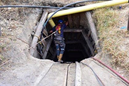 Bocatoma de la mina de Morcá en Sogamoso donde cuatro personas quedaron atrapadas y tras 7 días se confirmó su muerte.