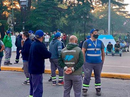 El Sindicato de Camioneros está en conflicto con la Municipalidad de Moreno por la recolección de residuos