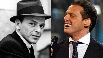 La conmovedora carta que Frank Sinatra envió a Luis Miguel