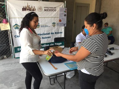 Las becas son consideradas una actividad esencial comprendida dentro de los programas sociales del gobierno (Foto: Coordinación Nacional de Becas para el Bienestar Benito Juárez)
