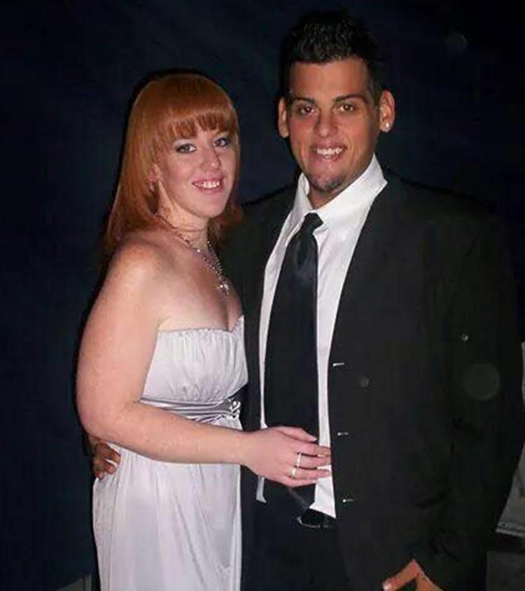 Maxi Oliva con Vanesa, en 2007 (foto: Facebook)