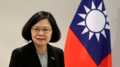 Tsai Ing-wen, presidenta de Taiwán (Reuters)