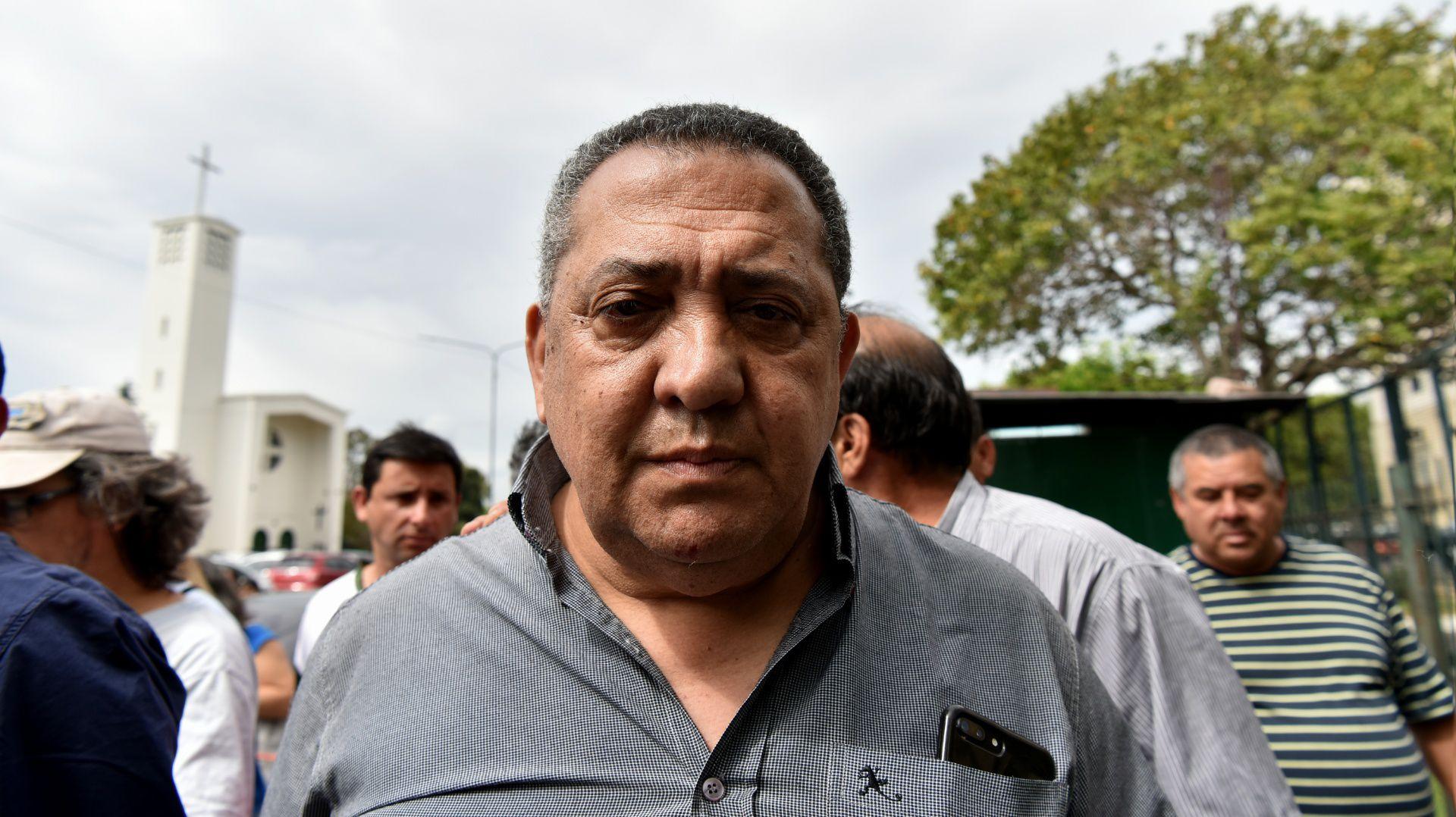 El líder piquetero Luis D'Elía (Gustavo Gavotti)