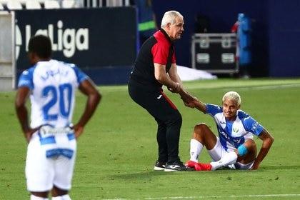 Una jugada cambió el destino del Leganés, que a pesar del esfuerzo de sus jugadores terminaron en segunda (Foto: Sergio Perez/ Reuters)