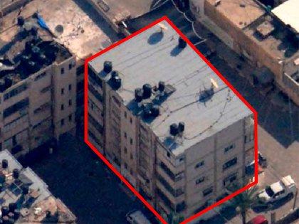 El edificio de 5 pisos donde funcionaban las oficina de Seguridad Interior del grupo terrorista