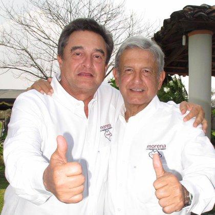 Pío López Obrador es uno de los fundadores de Morena, el partido iniciado por AMLO (Foto: Facebook @Pío López Obrador)