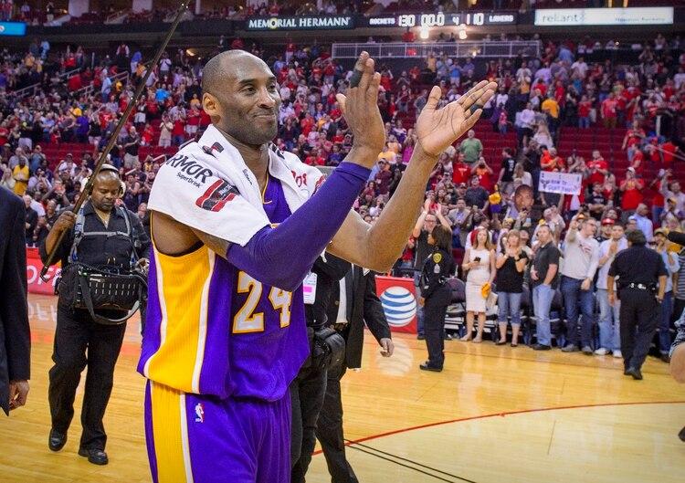 Kobe Bryant tenía 41 años y se había retirado en 2016 (Jerome Miron-USA TODAY Sports)
