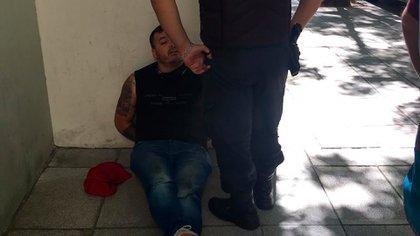 Ruben Machuca de 35 años, el único detenido por el robo