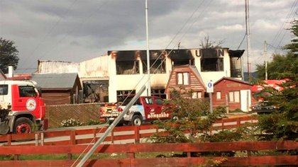 The fire affected the facilities almost completely