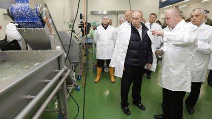 """""""Los estadounidenses son gente muy impresionable. Si quieren ver al demonio, déjenlos que lo vean"""", dijo Yevgeny Prigozhin cuando rechazó el procesamiento del Departamento de Justicia por la injerencia en las elecciones de 2016.. (Alexei Druzhinin, Sputnik, Kremlin Pool Photo via AP, File)"""