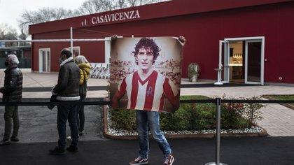 Los restos del ex futbolista serán cremados éste domingo (/ AFP)