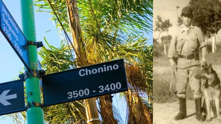 Chonino tiene su calle en la Ciudad de Buenos Aires