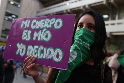 Manifestaciones para la despenalización del aborto.