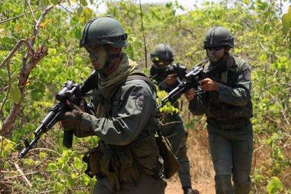 Militares del Ejército venezolano